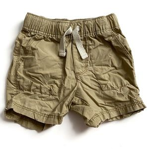 Old Navy Khaki Shorts Size 12-18 Months